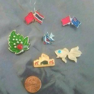 Small Chinese Pins